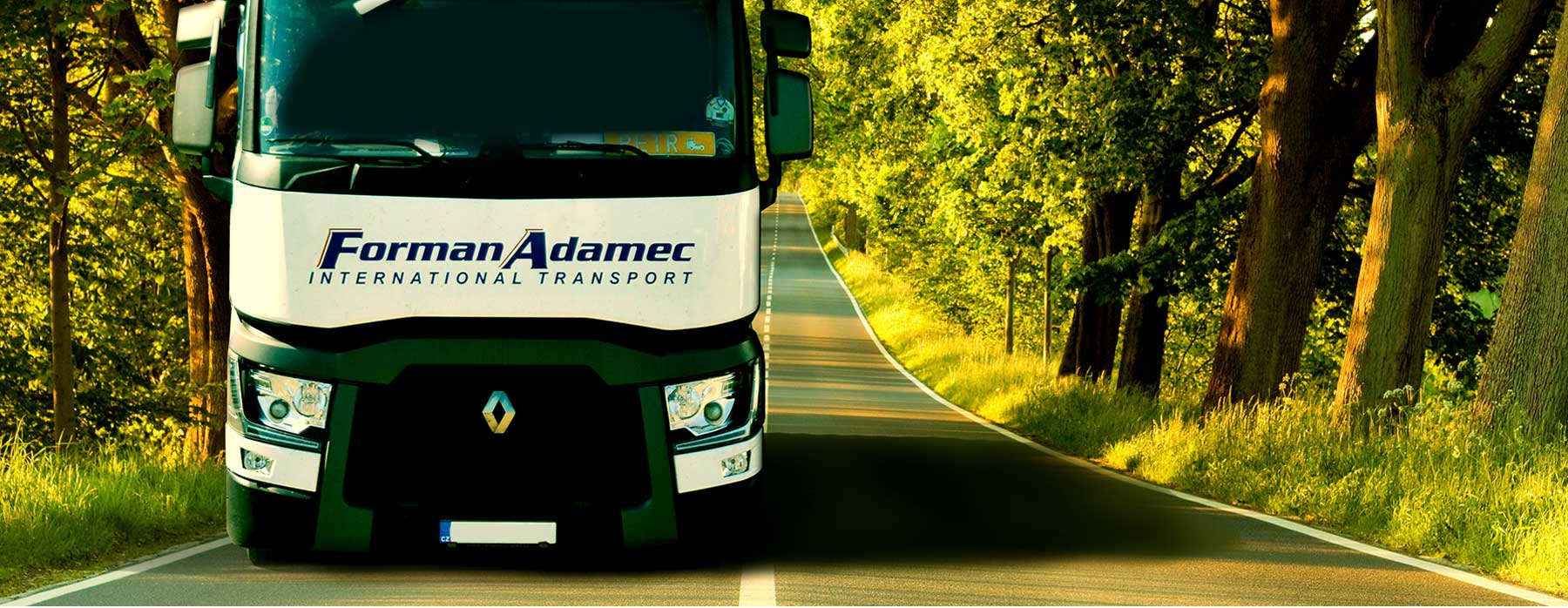 Forman Adamec - International Transport